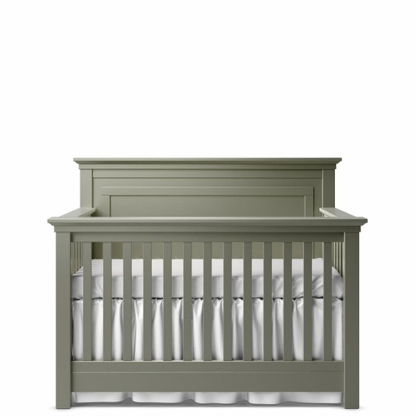 Romina Karisma Collection Convertible Crib with Full Panel in Vintage Grey