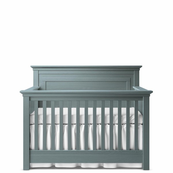 Romina Karisma Collection Convertible Crib with Full Panel in Washed Grey