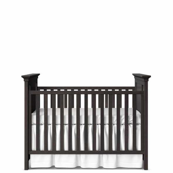 Romina Karisma Collection Classic Crib in Oil Grey