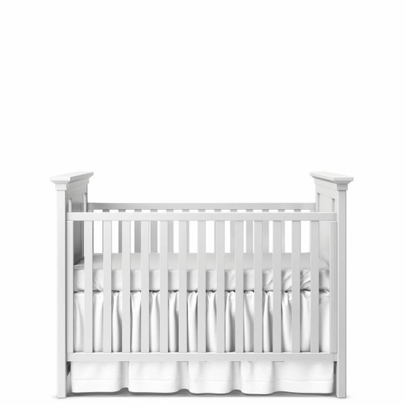 Romina Karisma Collection Classic Crib in Solid White