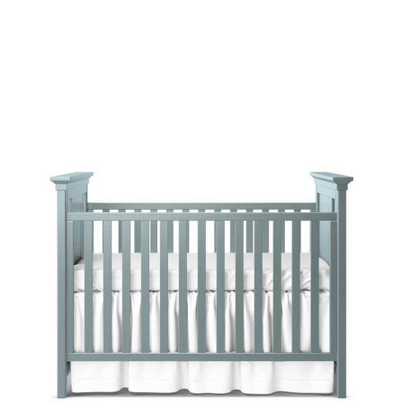 Romina Karisma Collection Classic Crib in Washed Grey