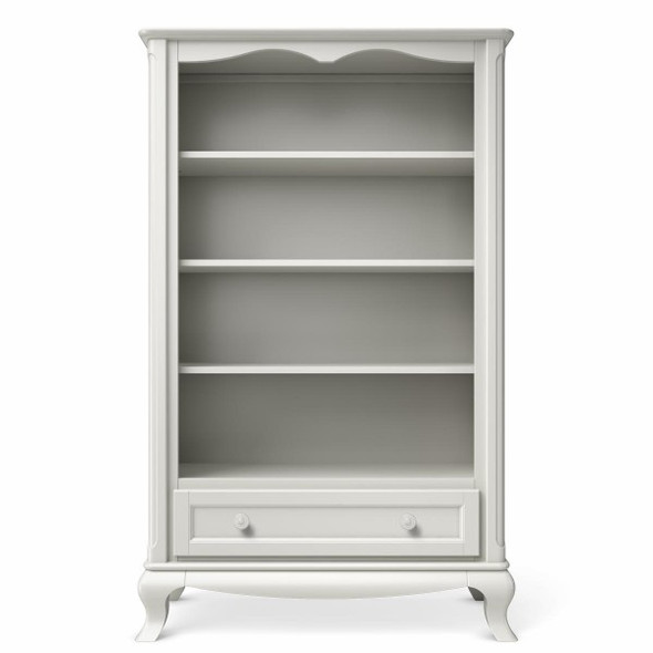 Romina Cleopatra Collection Bookcase in Solid White