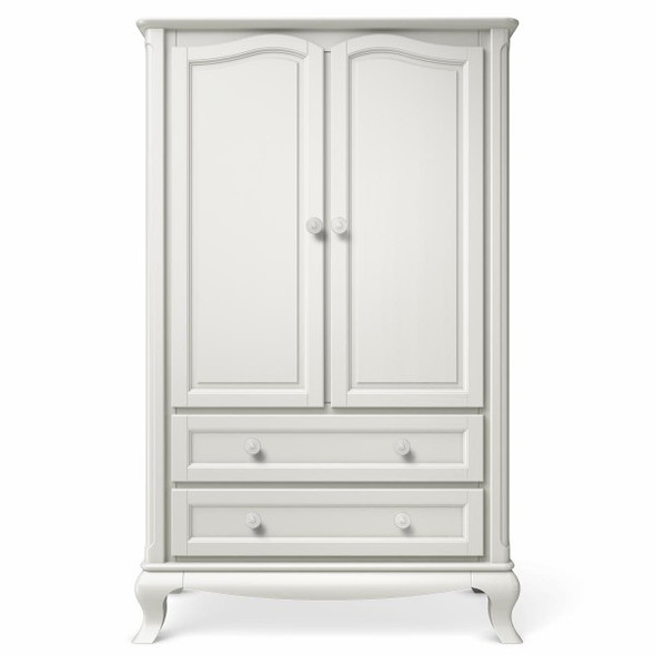 Romina Cleopatra Collection Armoire in Solid White