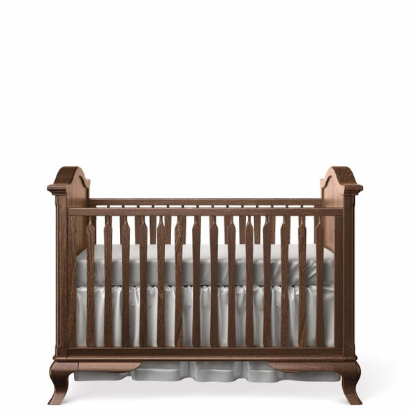 Romina Cleopatra Collection Classic Crib in Nocello