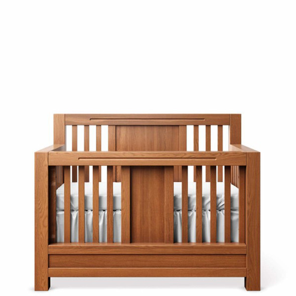 Romina Ventianni Collection Convertible Crib in Bruno Antico