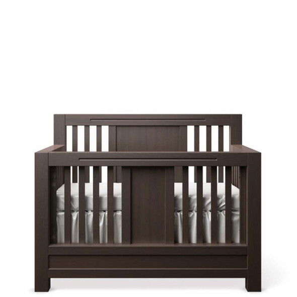 Romina Ventianni Collection Convertible Crib in Bruno Rosso