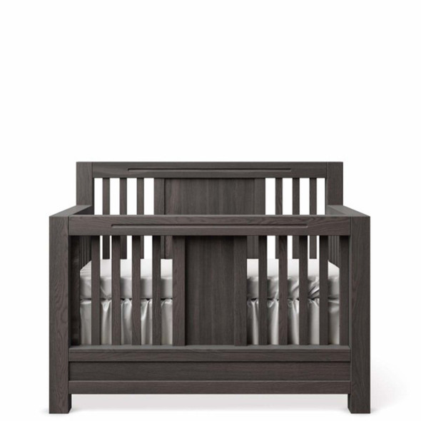 Romina Ventianni Collection Convertible Crib in Oil Grey