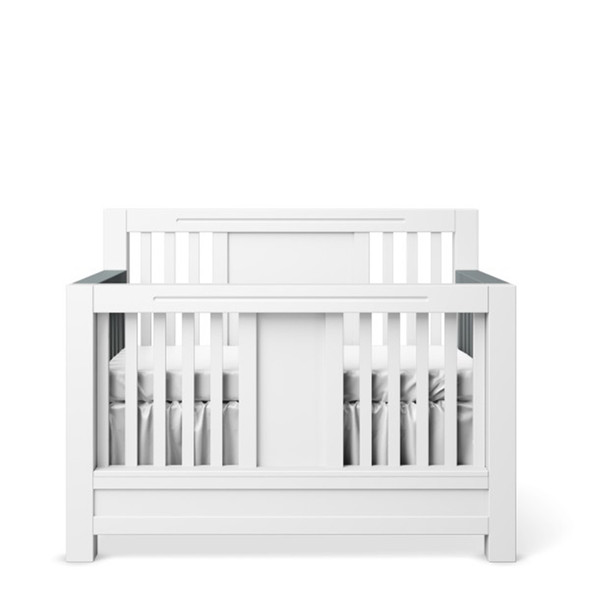 Romina Ventianni Collection Convertible Crib in Solid White