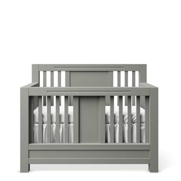 Romina Ventianni Collection Convertible Crib in Vintage Grey