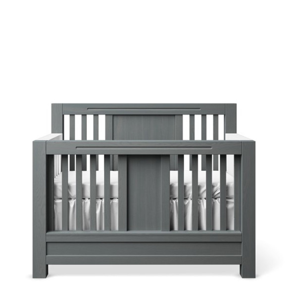 Romina Ventianni Collection Convertible Crib in Washed Grey