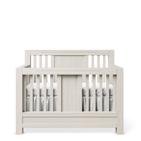 Romina Ventianni Collection Convertible Crib in Washed White