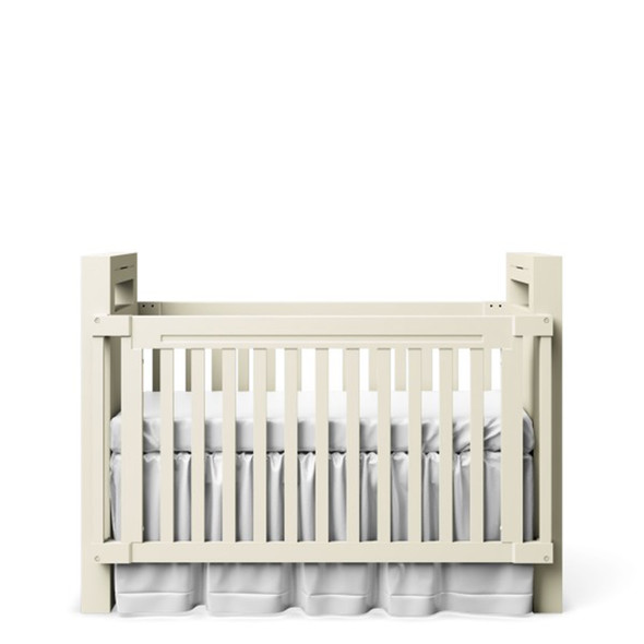 Romina Ventianni Classic/Convertible crib to twin bed in Solid White