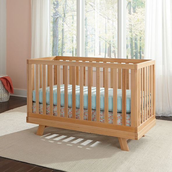 Westwood Reese Collection 2 Piece Nursery Set in Natural- Crib and Changing Table