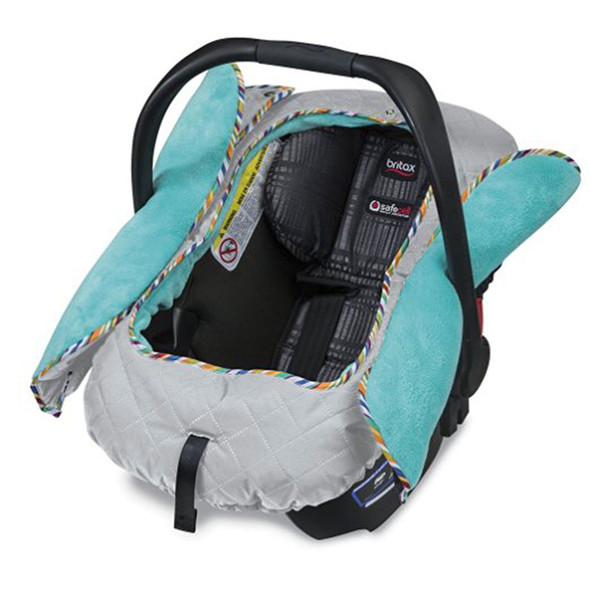 Britax B-Warm Insulated Infant Car Seat Cover in Arctic Splash
