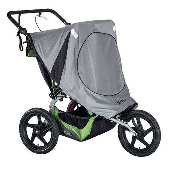 BOB 2016 Fixed Wheel Duallie Stroller Sun Shield