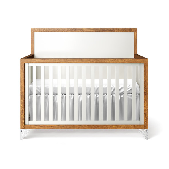 Romina Pandora Collection Convertible Crib in Solid White