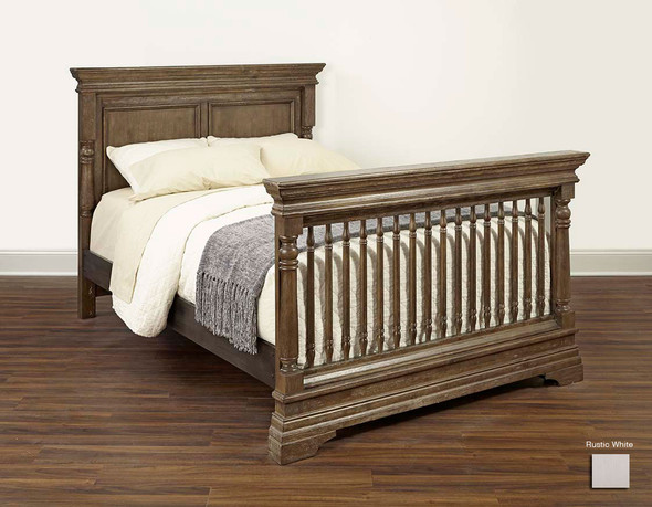 Stella Baby and Child Kerrigan Collection Bed Rails in Rustic White