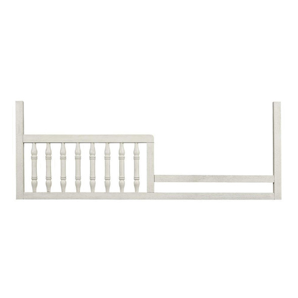 Stella Baby and Child Kerrigan Collection Toddler Rail Assembly in Rustic White