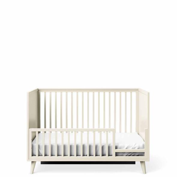 Romina New York Stationary Crib in Bianco Satinato