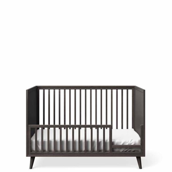 Romina New York Stationary Crib in Oil Grey
