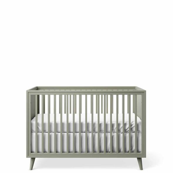 Romina New York Stationary Crib in Vintage Grey