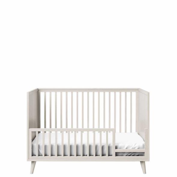 Romina New York Stationary Crib in Washed White