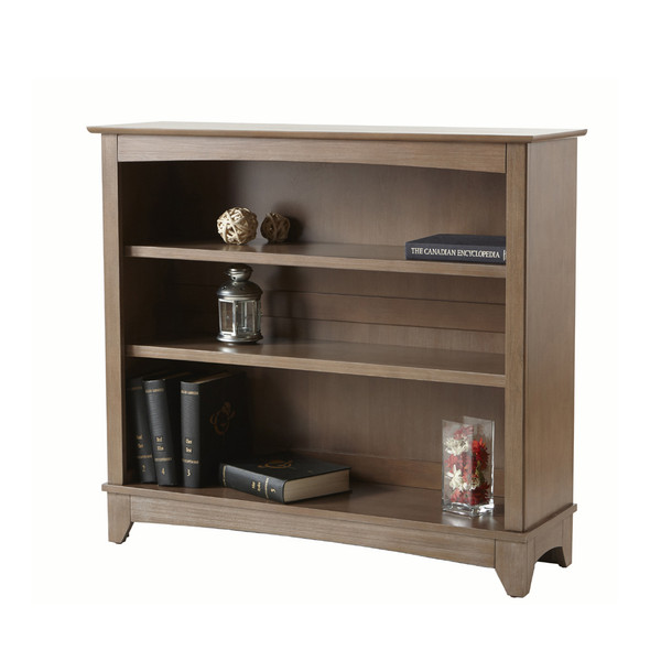 Pali Siracusa Collection Bookcase Hutch in Distressed Desert