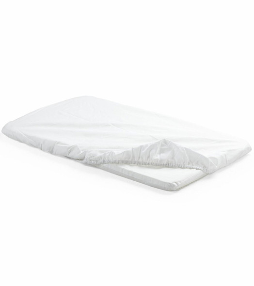 Stokke Home Cradle fitted sheets w/ 2 pieces in White