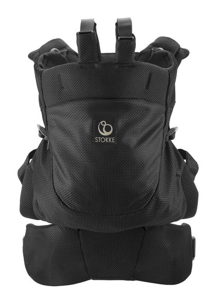 Stokke MyCarrier Back Carrier in Black Mesh