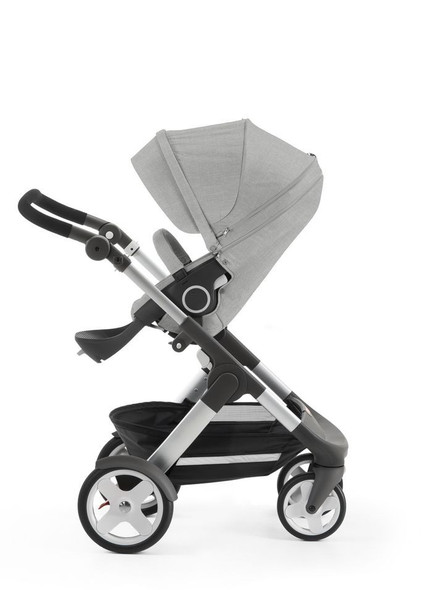 Stokke Trailz in Grey Melange with Classic Wheels