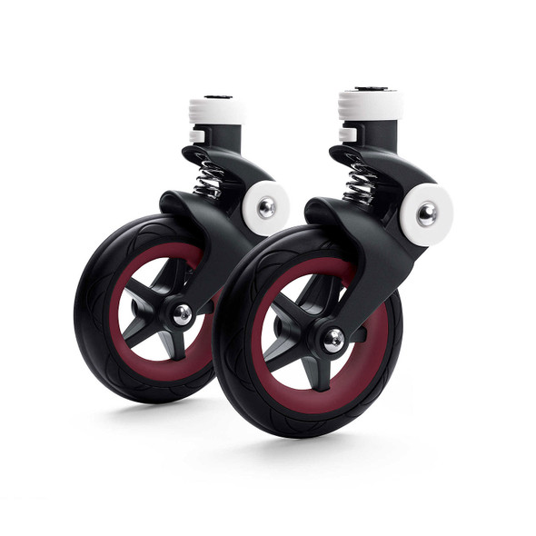 Bugaboo Bee5 Wheel Caps in Dark Red