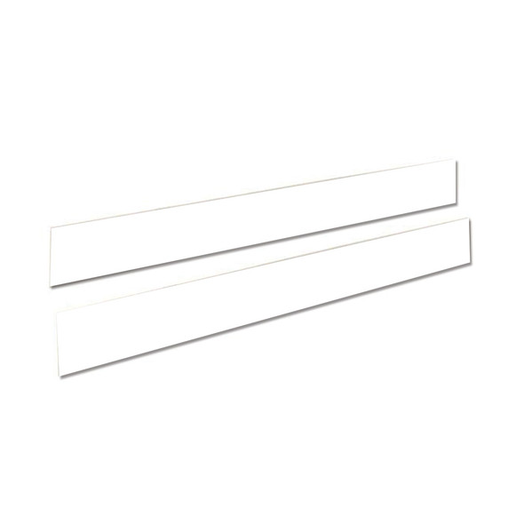 Natart Belmont Double Bed Rails in Pure White