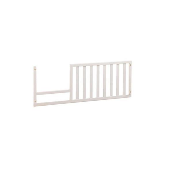 Natart Allegra Collection Toddler Rail in Pure White
