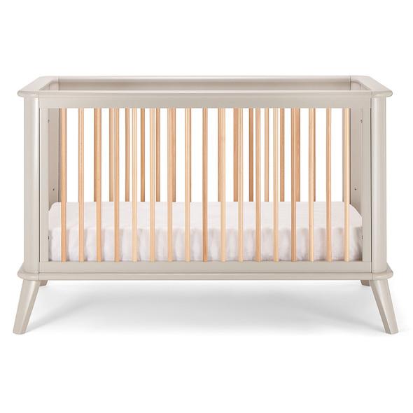 Pali Leone Crib in Gray Natural
