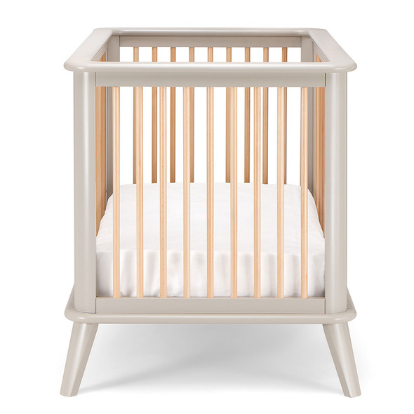 Pali Leone Crib in Gray Natural
