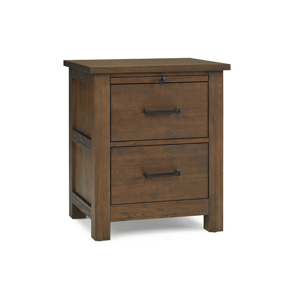 Dolce Babi Lucca Nightstand in Weathered Brown
