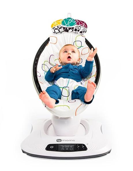 4Moms Mamaroo Multicolor Plush Baby Bouncer Swing