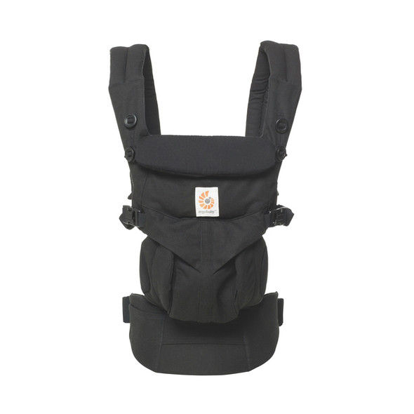 Ergobaby OMNI 360 All-in-One Ergonomic Baby Carrier in Pure Black