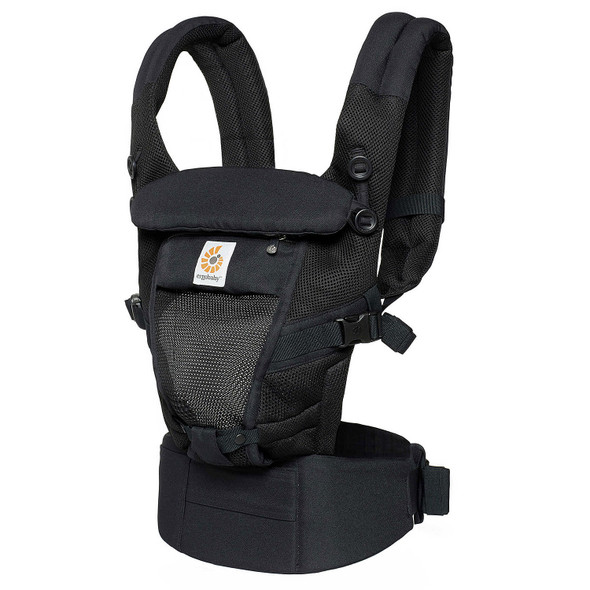 ErgoBaby Baby Carrier Adapt Cool Air Mesh in Onyx Black