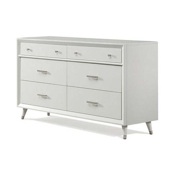 Child Craft Lincoln Park Double Dresser in White