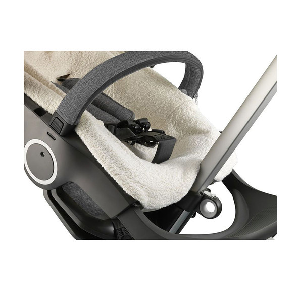Stokke Stroller Terry Cloth Cover in White