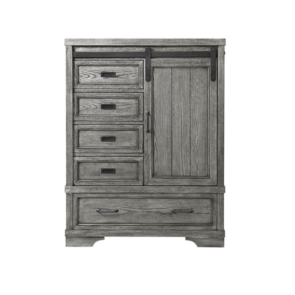 Westwood Foundry Chifferobe in Brushed Pewter