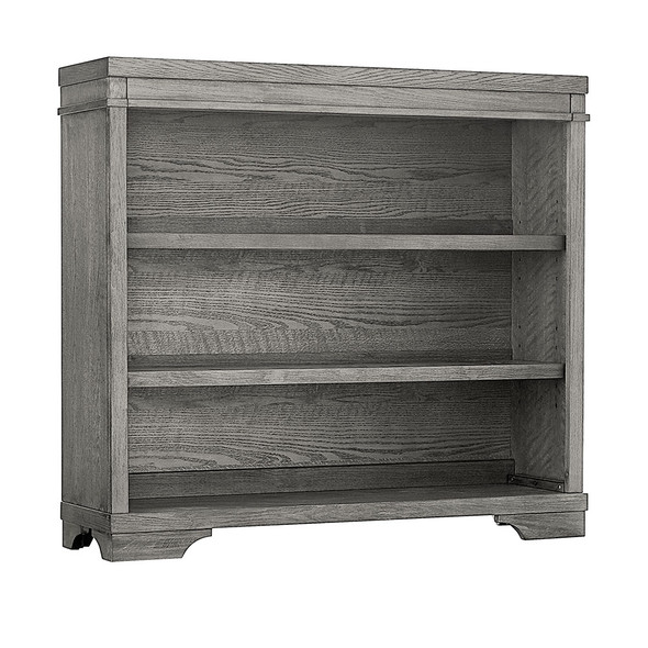 Westwood Foundry Bookcase/Hutch in Brushed Pewter
