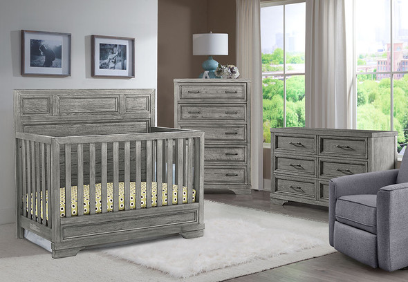 Westwood Foundry 3 Piece Nursery Set in Brushed Pewter
