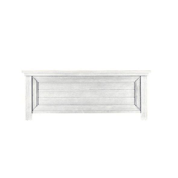 Dolce Babi Lucca Low Profile Footboard for Convertible Crib in Sea Shell White