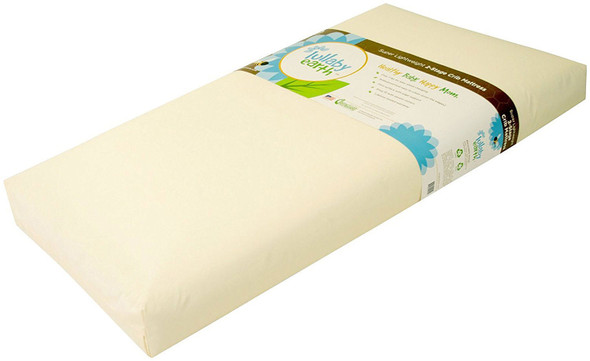 Lullaby Earth Healthy Support Crib Mattress Beige 2-Stage