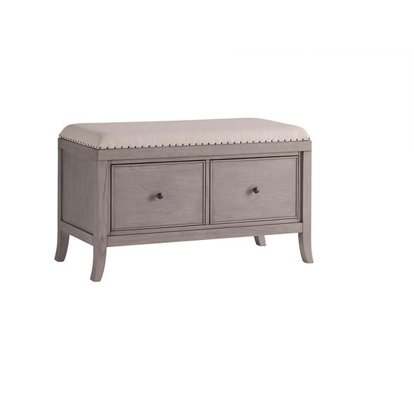 ED Ellen DeGeneres Wilshire Collection 2 Drawer Dresser in True Grey