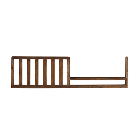 ED Ellen DeGeneres Greystone Collection Convertible Crib Guard Rail in Hewn Brown