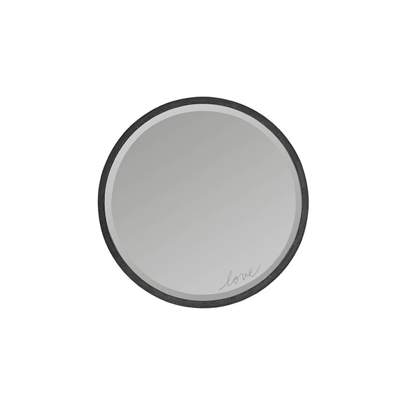ED Ellen DeGeneres Greystone Collection Mirror in Hewn Brown