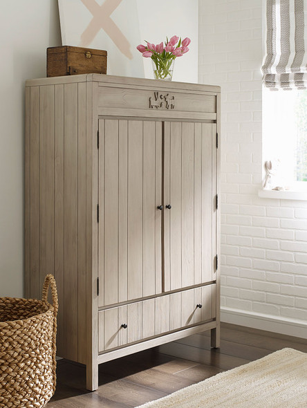 ED Ellen DeGeneres Autry Collection Armoire in Oatmeal